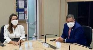 Mara Rocha e vice-governador Rocha solicitam leios de UTI para o Alto Acre