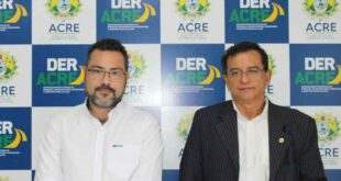 Gonzaga procura o Deracre para tratar de limpeza dos rios e melhorias para os municípios do Juruá