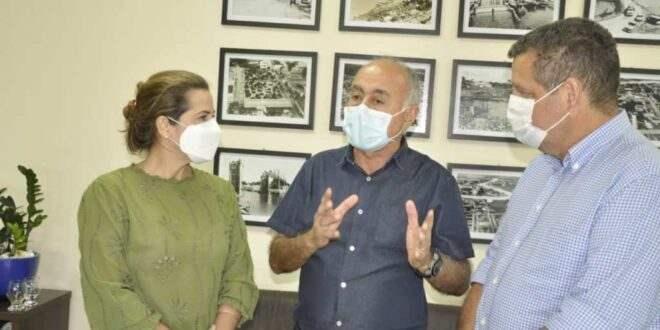 Prefeito Bocalom agradece emendas indicadas por Mara Rocha para Rio Branco